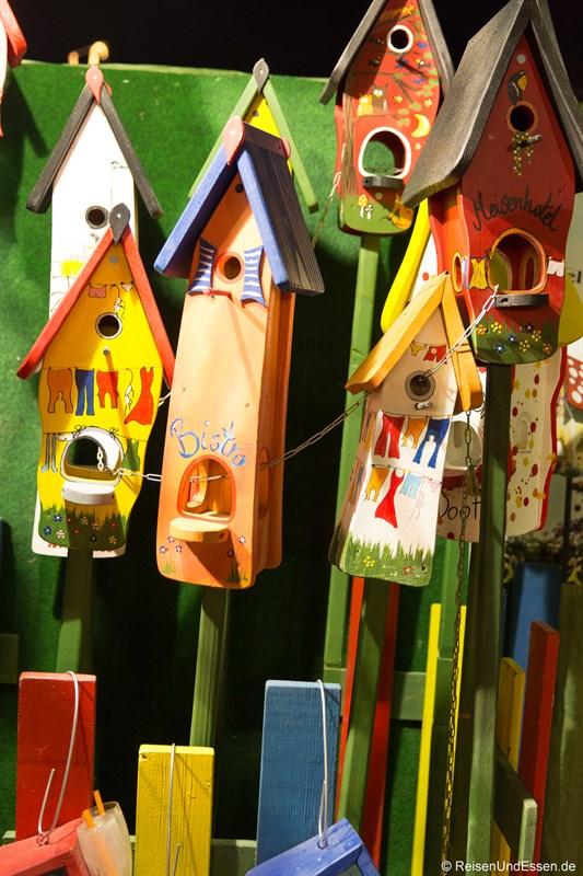 Tollwood München Vogelhäuschen