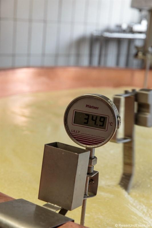 Temperaturkontrolle bei der COMTE-Produktion