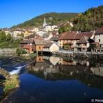 Entlang der Loue zur Quelle der Lison in der Franche-Comte