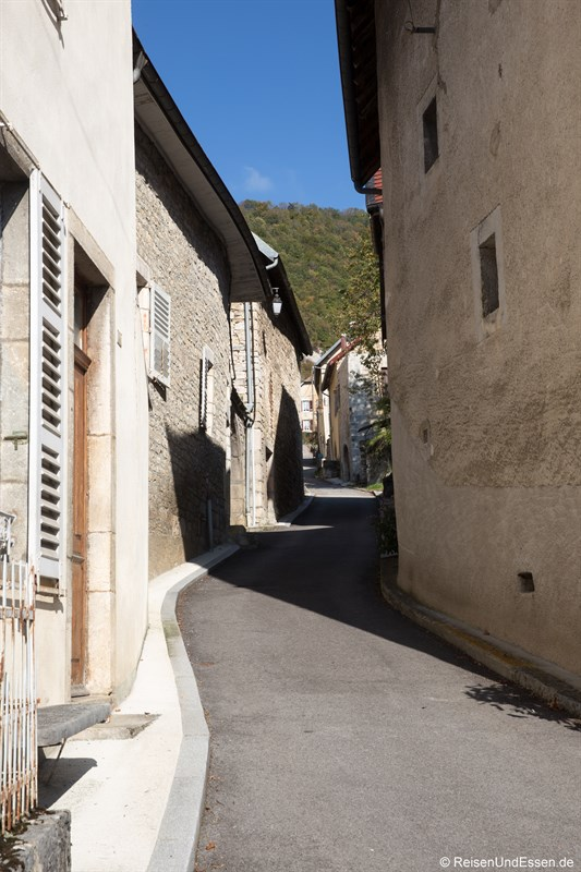 Gasse in Mouthier-Haute-Pierre