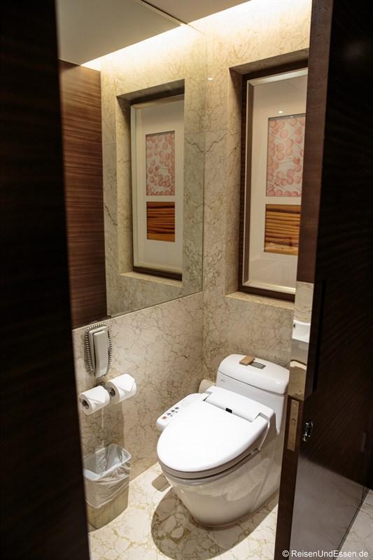 Toilette im Luxus Zimmer