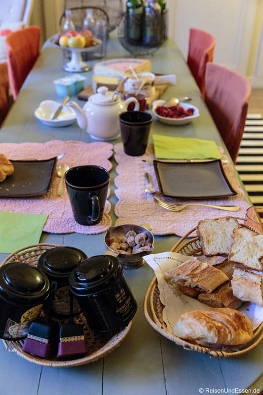 Frühstück Le Jardin de Gustave in Ornans