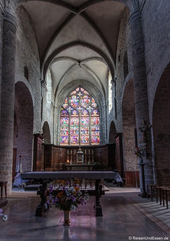 In der Kirche Saint-Just in Arbois