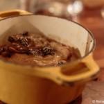 Essen und Schlafen in Arbois in der Franche-Comte