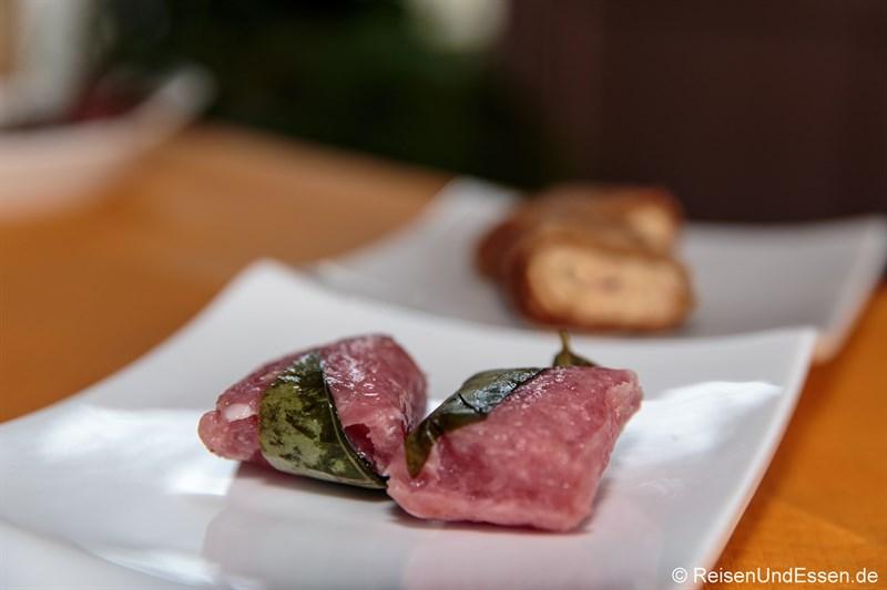 Saures Fleisch zu Chinesisches Neujahr