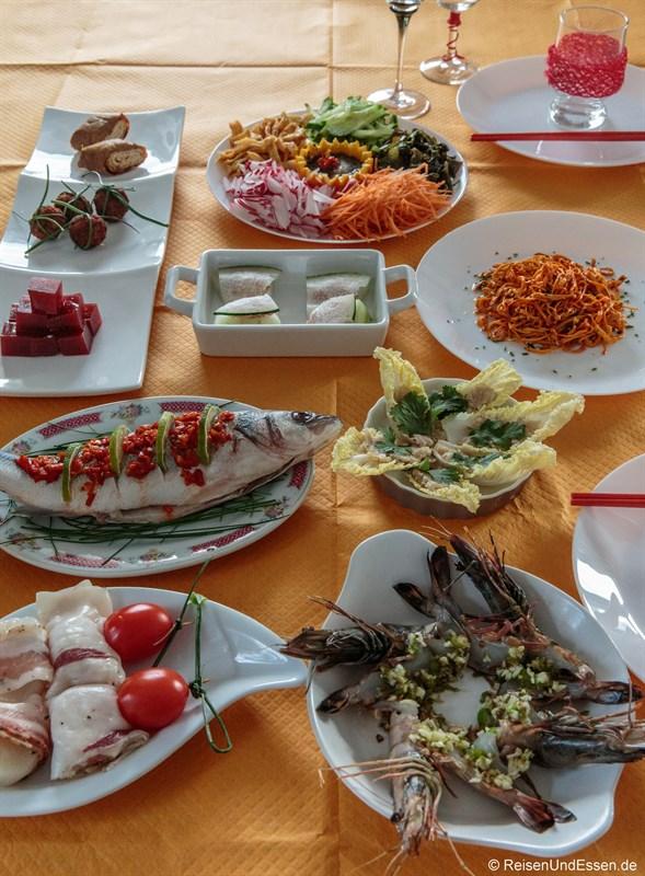 Gerichte zu Chinesisches Neujahr