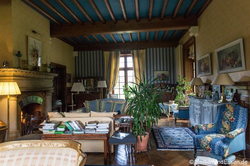Salon im Chateau de la Presle
