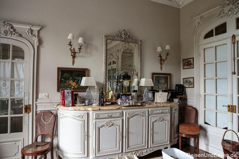 Esszimmer im Chateau de la Presle