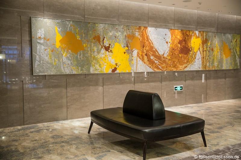 Lobby im Hotel Kempinski am Yanqi Lake