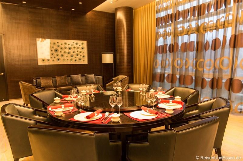 Privater Raum im Restaurant Magnolia