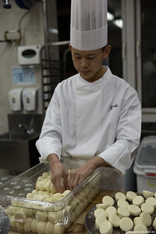 Herstellung von Dumplings