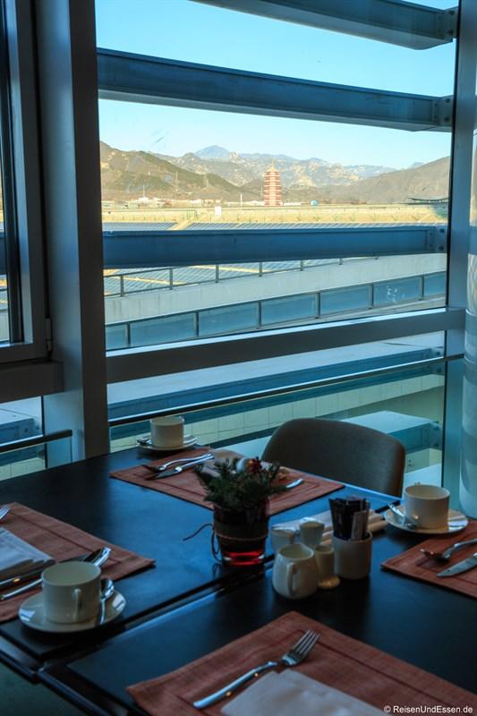 Frühstück im Restaurant Elements mit Aussicht
