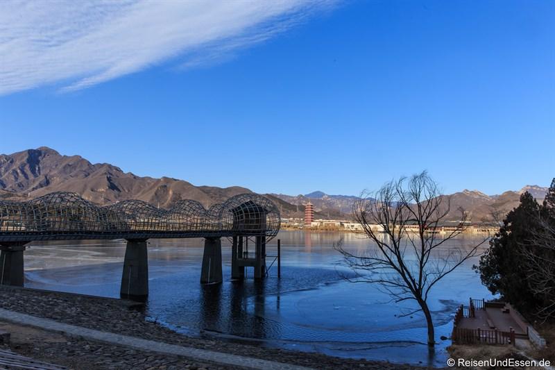 Yanqi Lake und Yanshan Berge