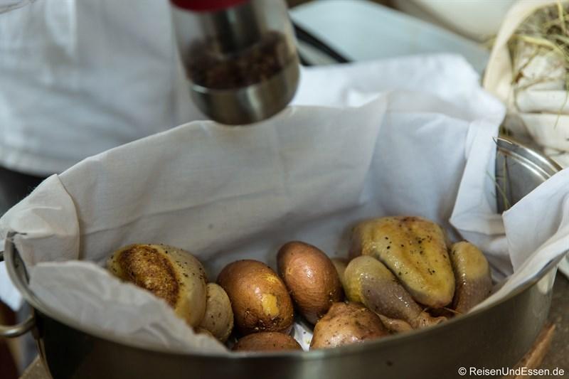 Hühnchen mit Kartoffeln