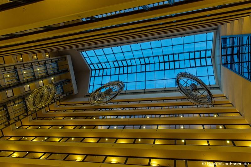Lobby im Maritim Hotel Dresden