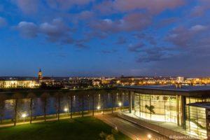 Zimmer mit Aussicht im Maritim Hotel Dresden