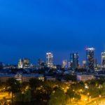 Blick auf die Skyline im Maritim Hotel Frankfurt