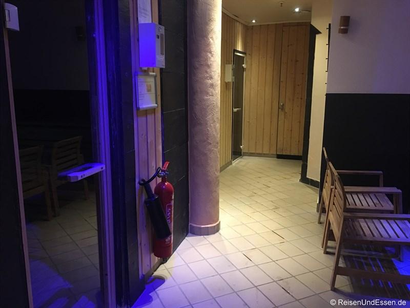 Saunabereich im Maritim Hotel Frankfurt