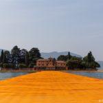 Floating Piers von Christo auf dem Iseosee