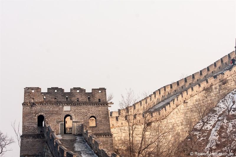 Wachturm und Chinesische Mauer