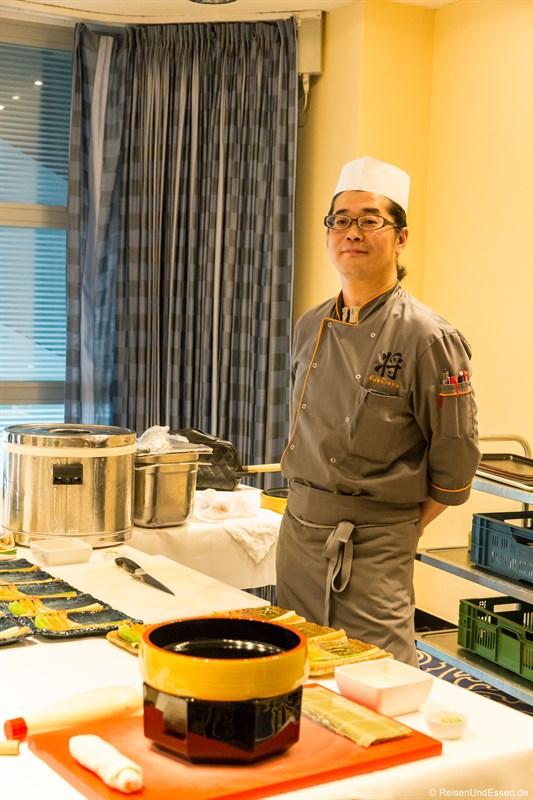 Sushi Meister aus dem Restaurant SushiSho