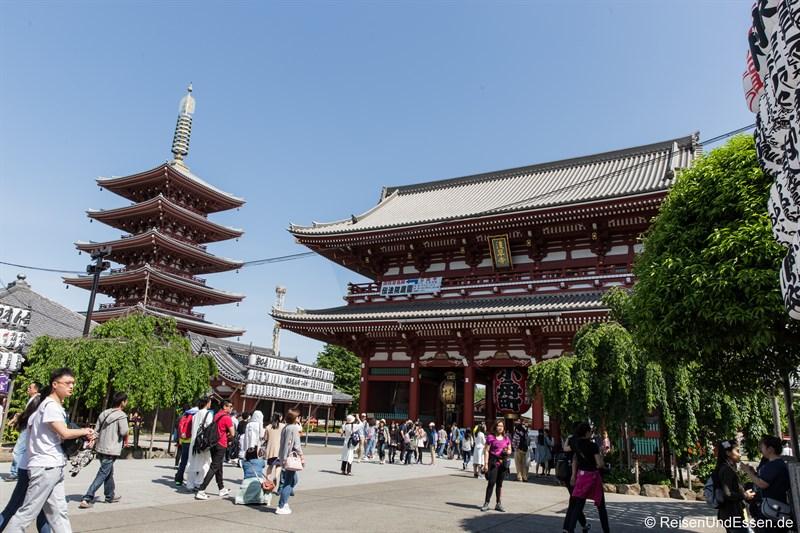 Senso-ji Tempel und Pagode