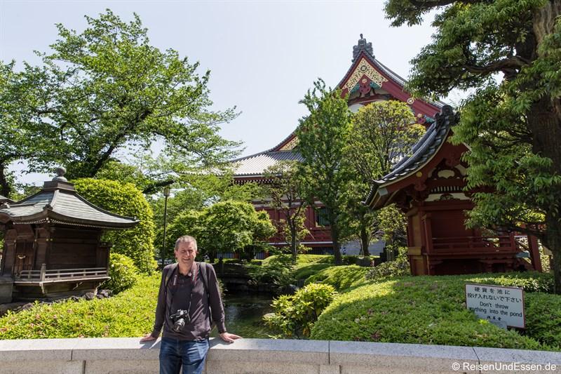 Japanischer Garten beim Senso-ji Tempel