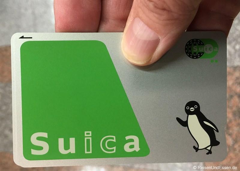Japan Suica Card - Tipps für deine Ankunft in Japan