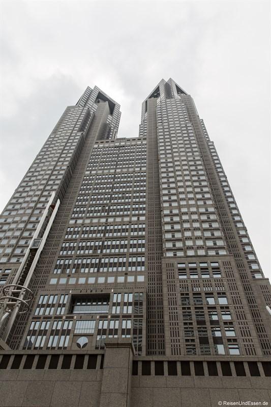 Blick auf Tokyo Government Building