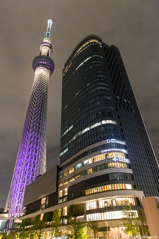 Tokyo Skytree bei Nacht