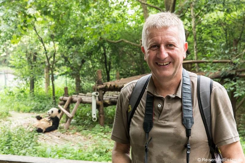 Zu Besuch bei den Panda in Chengdu
