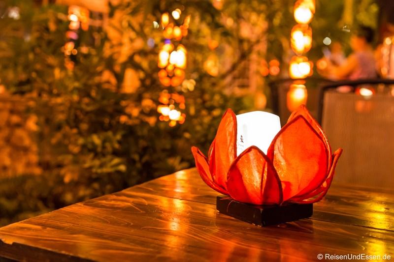 Beleuchtung in der Jinli Strasse