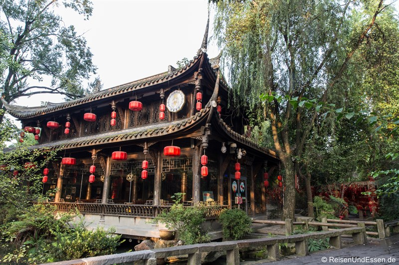 Teehaus bei der Jinli Strasse