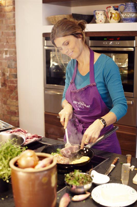 Kochen mit Sarah Wiener (Copyright by Christian Kaufmann für Sarah Wiener GmbH)