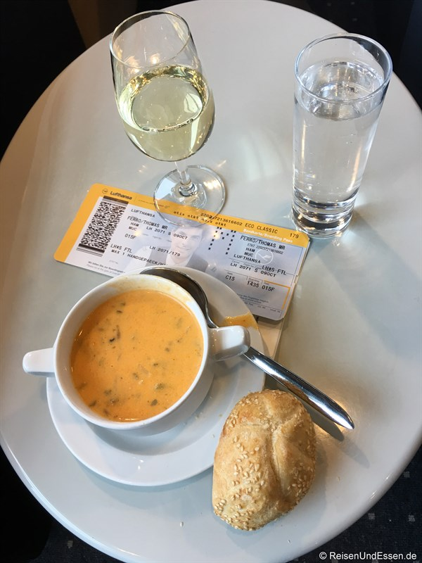Lufthansa Business Lounge in Hamburg