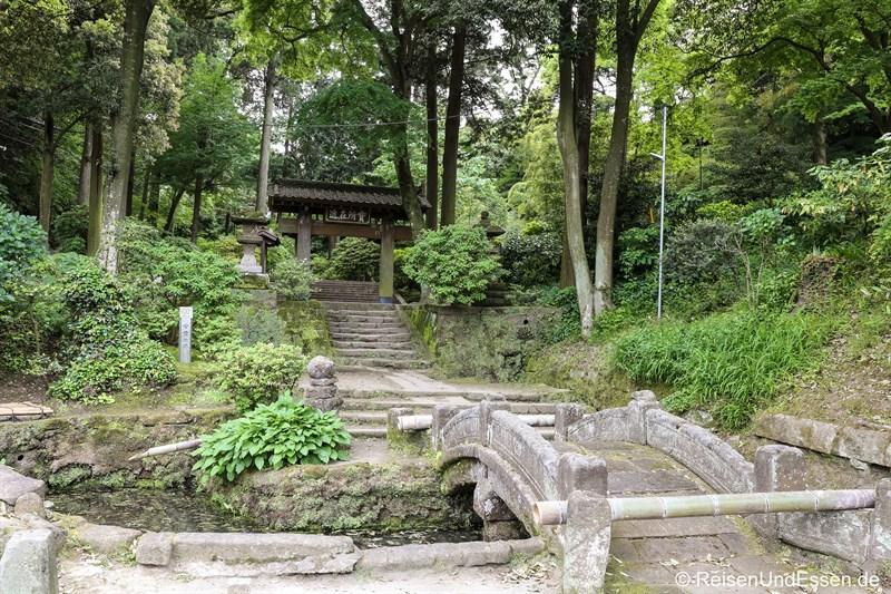 Auf dem Weg zum Jochi-ji Tempel in Kamakura
