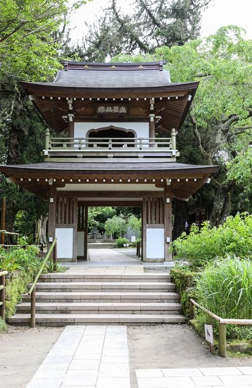 Eingang zum Jochi-ji Tempel in Kamakura