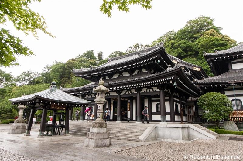 Gebäude Kannon-do in der Tempelanlage Hase-dera