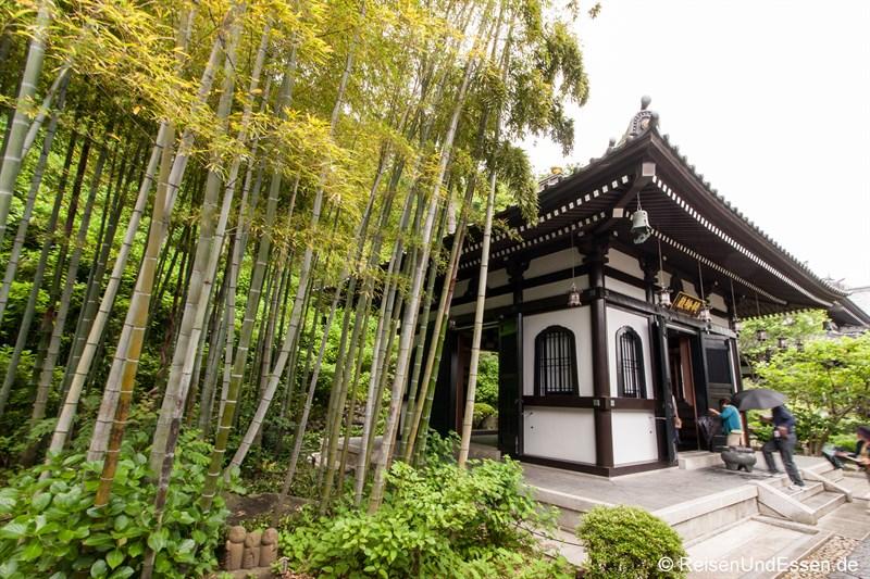 Tempel in Hase-dera