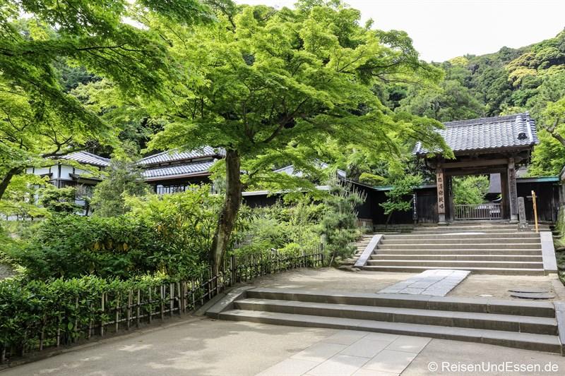 Weg in der Tempelanlage