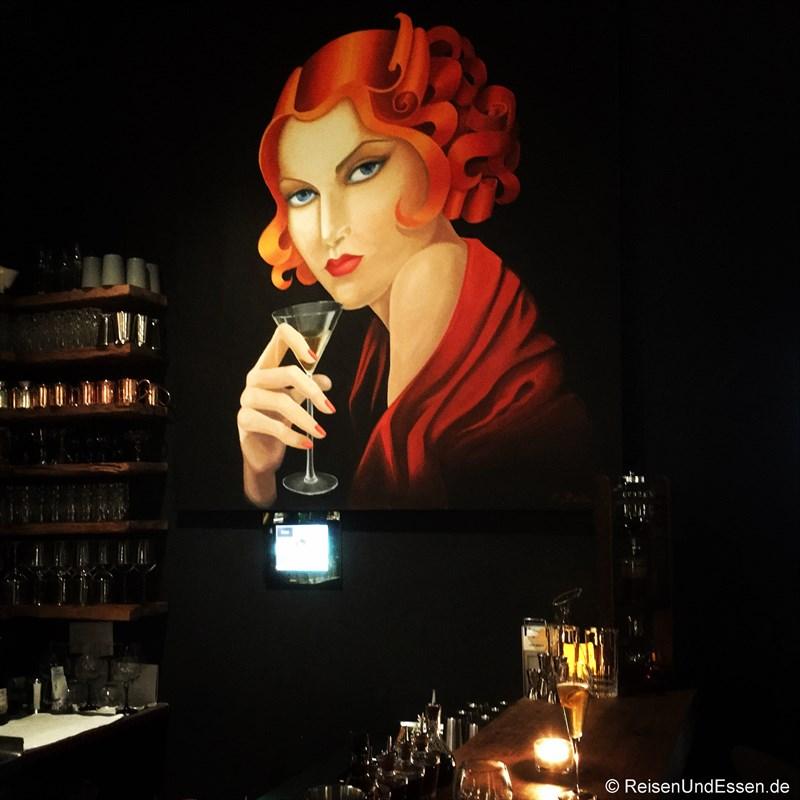 Bild in der Bar im La Boheme in München