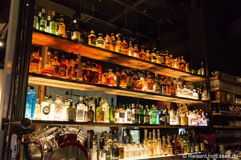 Bar im Restaurant La Boheme in München