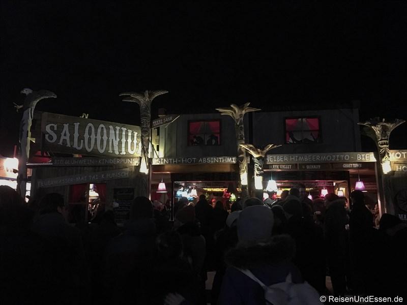Saloonium auf dem Tollwood Winterfestival