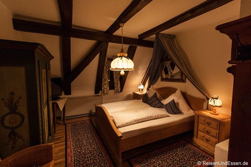 Doppelzimmer im Hotel Altfränkische Weinstube