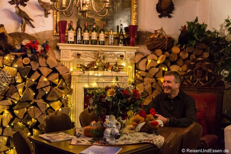 In der Lobby von der Altfränkischen Weinstube
