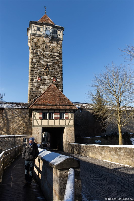 Rödertor in Rothenburg