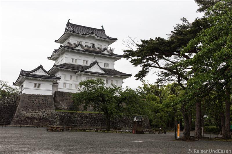 Burgturm der Burg in Odawara