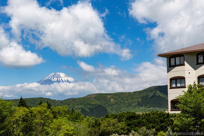 Fuji und Hotel Green Plaza Hakone