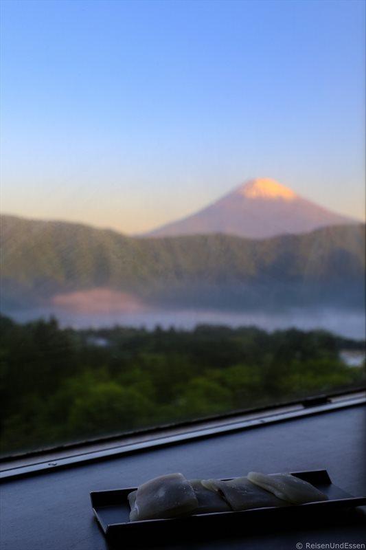 Zimmer mit Aussicht auf Fuji