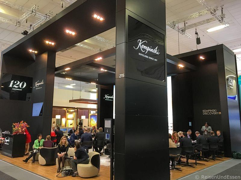 Stand von Kempinski Hotels - Highlights auf der ITB 2017